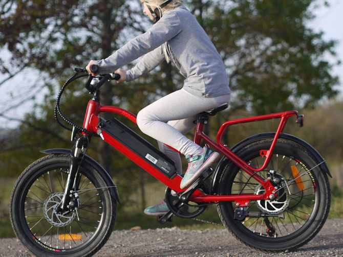 Ebike für Kinder - Elektrisches Kinderfahrrad Mountainbike - 250W - 20 Zoll