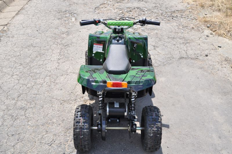 Kinderquad 800 Watt 36 Volt - 3 Stufendrossel - LED - Wechselakku - Rider - Hip-Hop Style – Bild 12