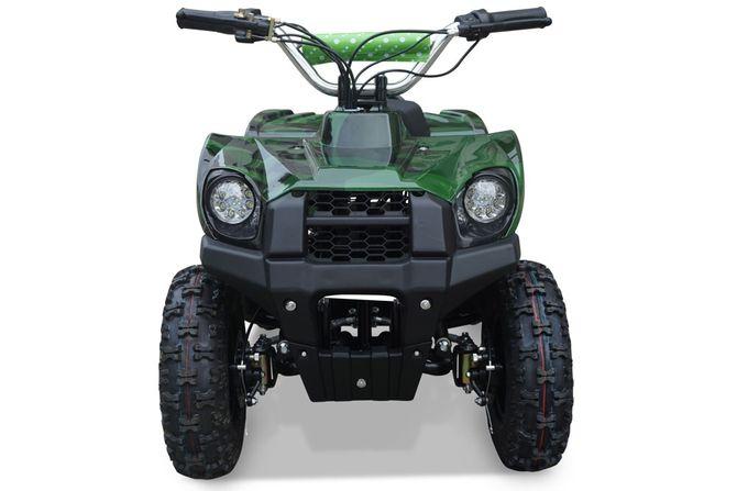 Kinderquad 800 Watt 36 Volt - 3 Stufendrossel - LED - Wechselakku - Rider - CAMOUFLAGE