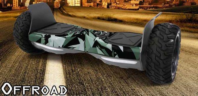 "Hoverboard - Balance Board 800W  mit 8.5"" Offroad Reifen"