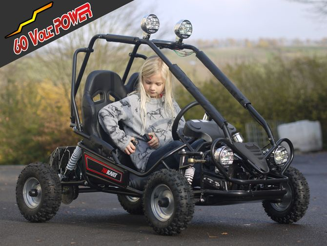 mini kinder elektro buggy 750 watt 60 volt motor. Black Bedroom Furniture Sets. Home Design Ideas