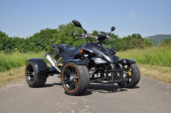 Spy Racing Quad 250ccm - FIREFLY - LIMITED - EURO 4 - BLACK BEAUTY