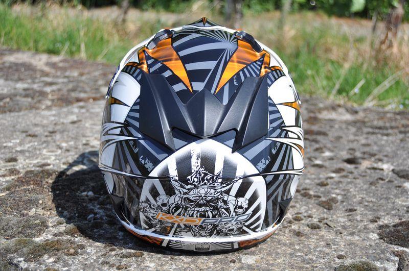 Kinder Motorrad Helm - Cross für Kinder Quad Dirtbike - KXD PRO - Orange – Bild 4