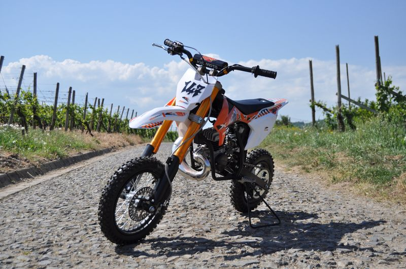 Kinder Cross Motorrad KXD MOTO PRO  50ccm 2-Takt - Vollautomatik – Bild 1
