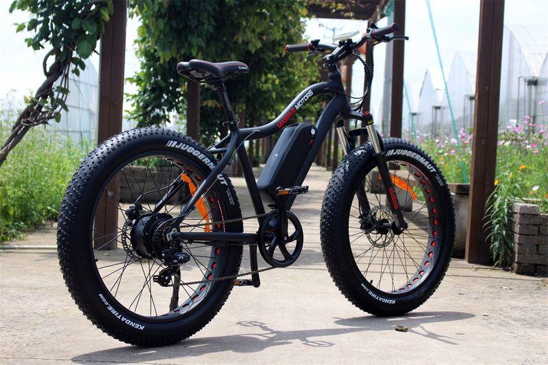 E Fatbike SPORT - 750W - 48V - 17,5 AH Power Mountain Bike - NEU 2018 – Bild 5