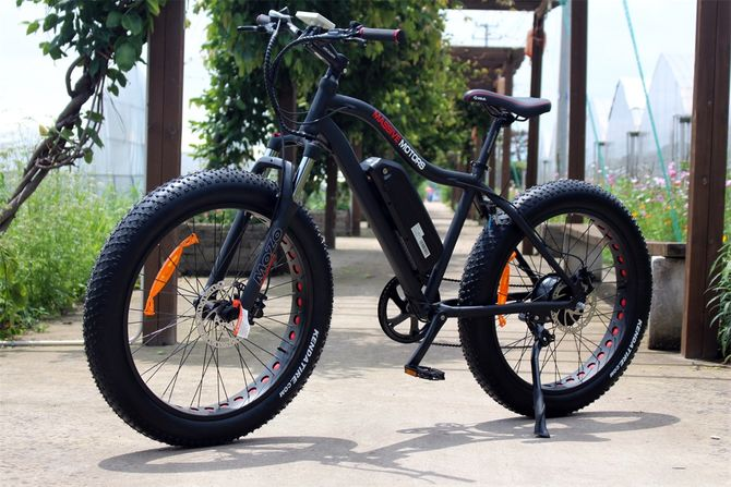E Fatbike SPORT - 750W - 48V - 17,5 AH Power Mountain Bike - NEU 2019
