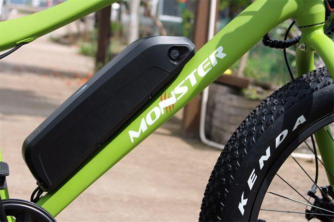 "Ebike für Kinder 24 Zoll Fatbike ""Monster"" 250W - 36V Samsung Akku"
