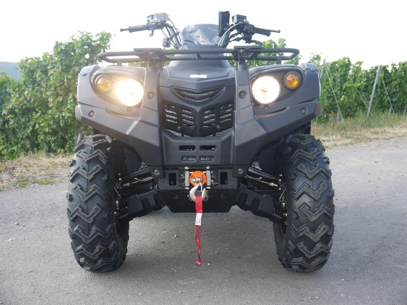 Automatik Quad Atv - 4WD Allrad + AHK + Seilwinde - HISUN 400 - 10 - CAMOUFLAGE  – Bild 7