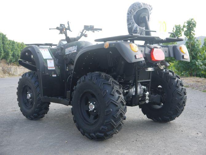 Automatik Quad Atv - 4WD Allrad + AHK + Seilwinde - HISUN 400 - 10 - CAMOUFLAGE