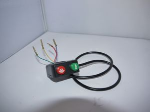 Lichtschalter + Hupe für Python elektro Kinderquad  001