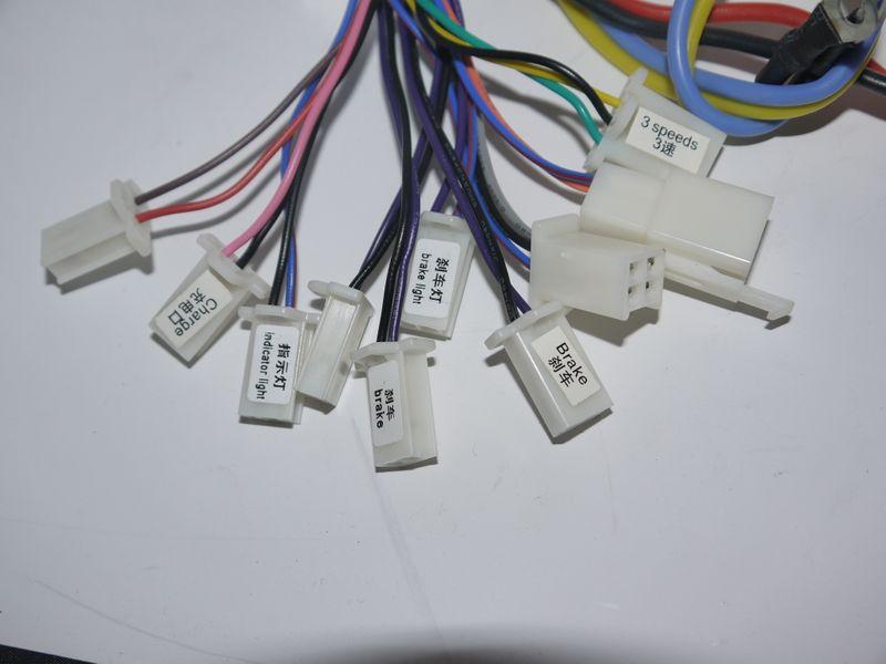 Steuereinheit Controller 800 Watt 36 Volt für Elektro Kinderquad mit Bremslicht - Lianmei – Bild 3