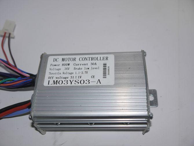 Steuereinheit Controller 800 Watt 36 Volt für Elektro Kinderquad mit Bremslicht - Lianmei
