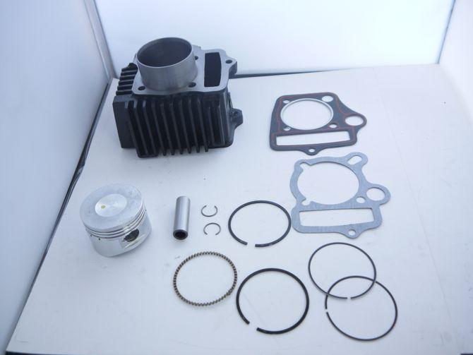Zylinder Reparatur Set 125ccm Motor 4 Takt - Kolben + Zylinder + Dichtungen