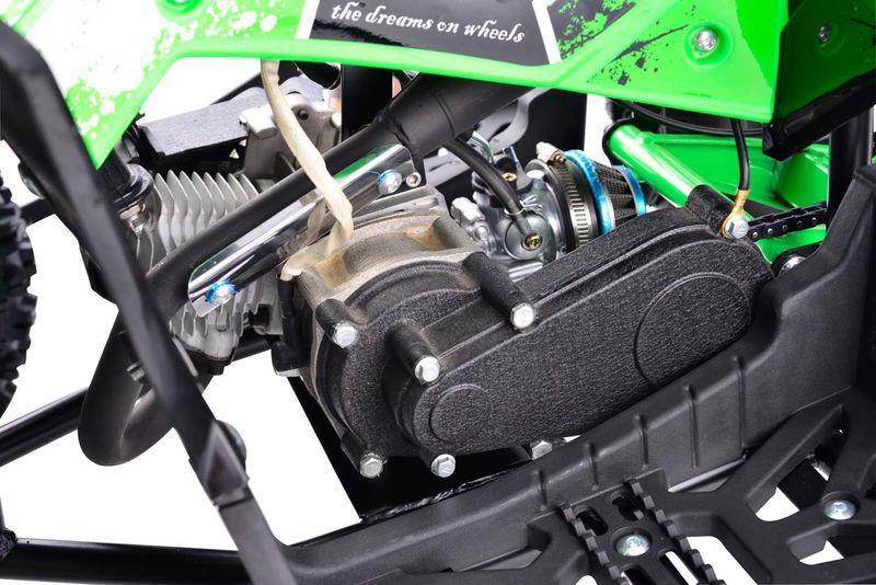 Pocketquad 50ccm mit Getriebe und LIMA