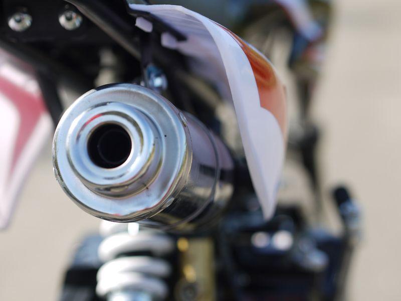 Kinder Cross Bike / Dirtbike 110ccm - 4 Takt - 14/12 Zoll Bereifung - 4 Gang Schaltung - Highper Pitbike – Bild 8