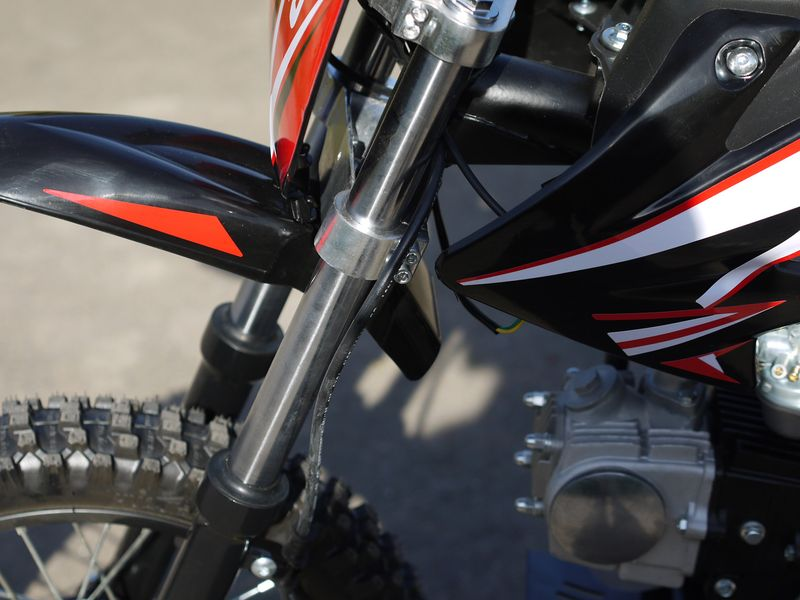 Kinder Cross Bike / Dirtbike 110ccm - 4 Takt - 14/12 Zoll Bereifung - 4 Gang Schaltung - Highper Pitbike – Bild 11