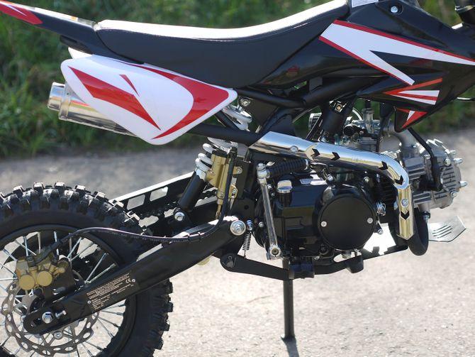 Kinder Cross Bike / Dirtbike 110ccm - 4 Takt - 14/12 Zoll Bereifung - 4 Gang Schaltung - Highper Pitbike
