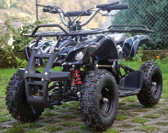 Kinderquad 1000 Watt - 48 Volt + 3 Stufen Drossel + Fernbedienung Spider 2.0