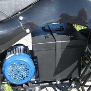 Akku, Akkupack 48V - 20 AH in Plastikbox für Elektro Kinderquads