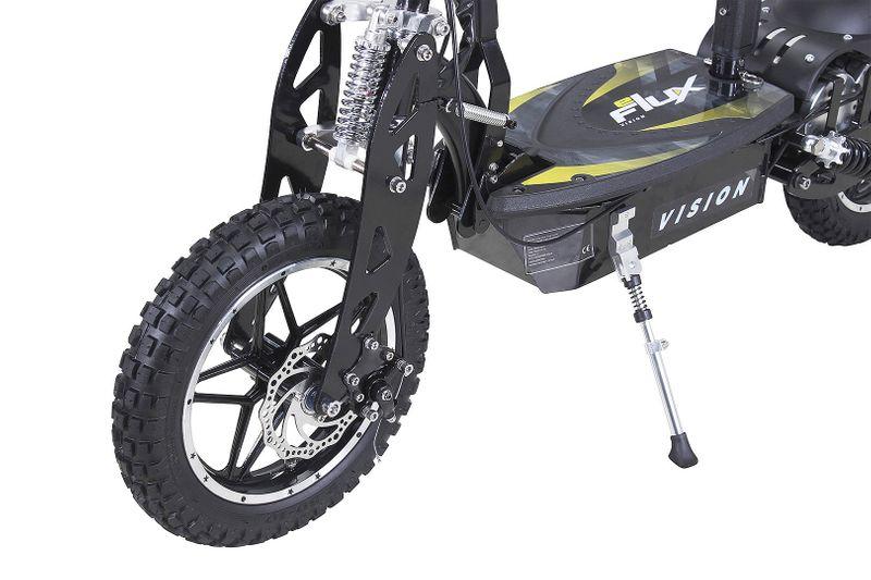 Elektro Roller 1000 Watt 10 Zoll Reifen - Chrome Federbein