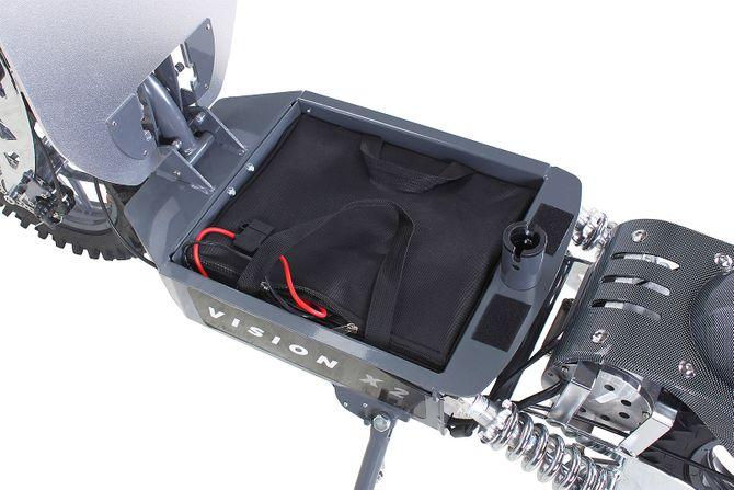 eFlux vision der E-Scooter / Elektro-Roller mit 2000 Watt, 10 Zoll Reifen,  EcoMode und Strassenzulassung