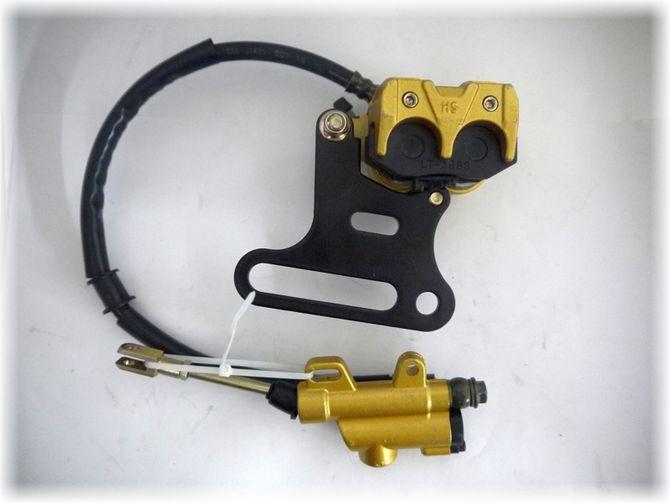 Bremse / Hydraulische Bremse hinten gefüllt inkl. Bremssattel für Dirtbike