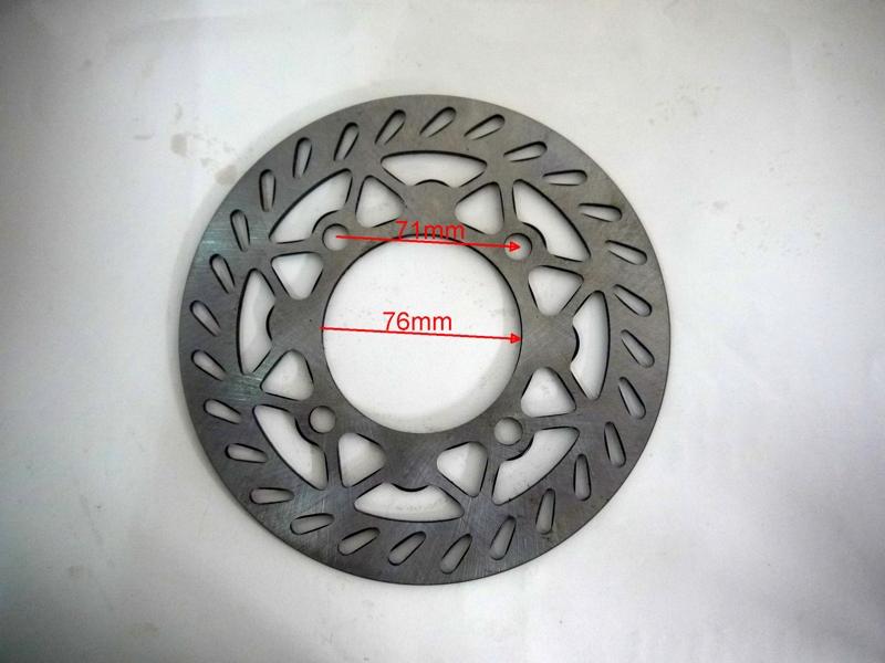 Bremsscheibe ohne Versatz für Dirtbike, Dirtbikes  – Bild 2