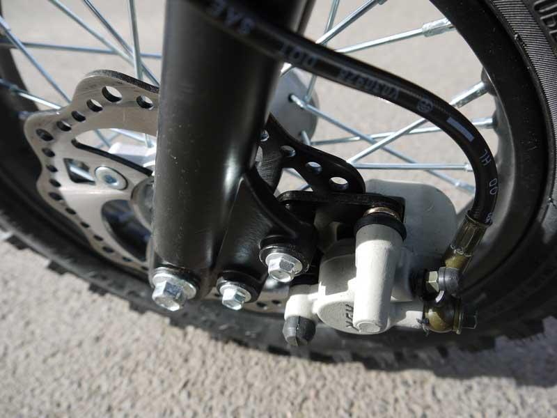 Kinder Cross Bike 70ccm Scheibenbremse vorne