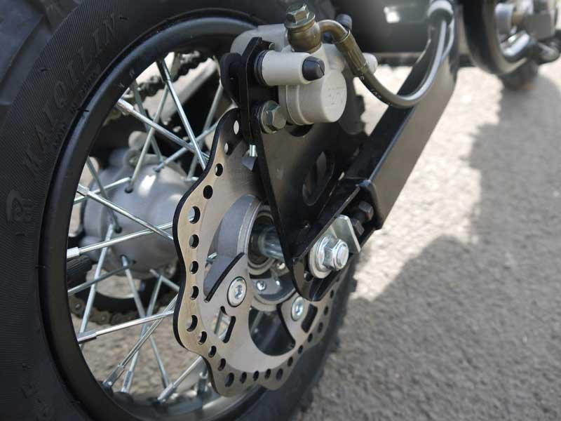 Dirtbike für Kinder 70ccm 4 Takt Scheibenbremse hinten