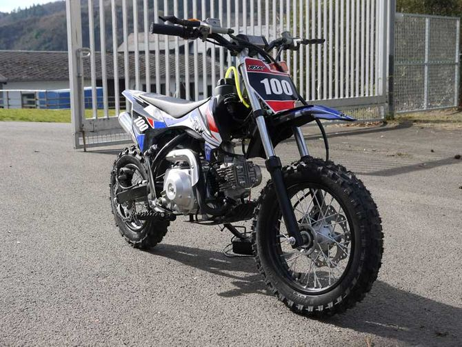 Kinder Cross Motorrad 70ccm 4 Takt - 12 Zoll Reifen - Kid Dirtbike mit Power