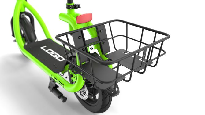 E-Scooter - Elektrischer Roller 350 Watt - 36 Volt Lithium Akku - City Cruiser