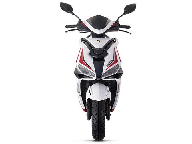 Motorroller 50ccm - 25 km/h Mofa Version - 4 Takt - ZNEN Fantasy EURO 4 Sport Edition - ROT