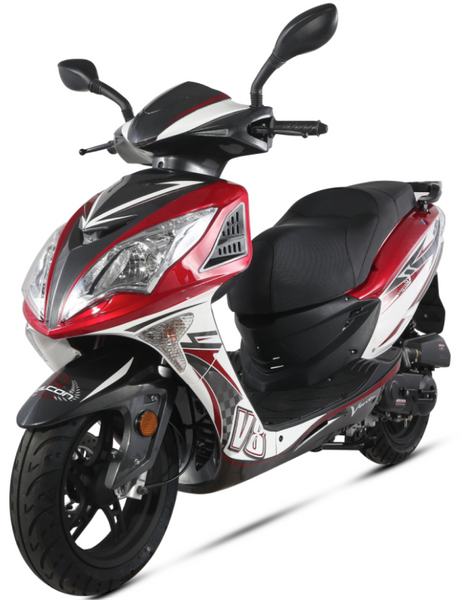 Motorroller 50ccm 45 Kmh 4 Takt Znen Falcon 8 Euro 4 Sport