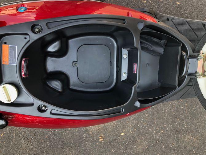 Motorroller 50ccm - 45 km/h - 4 Takt - ZNEN Falcon 8 EURO 4 Sport Edition - ROT