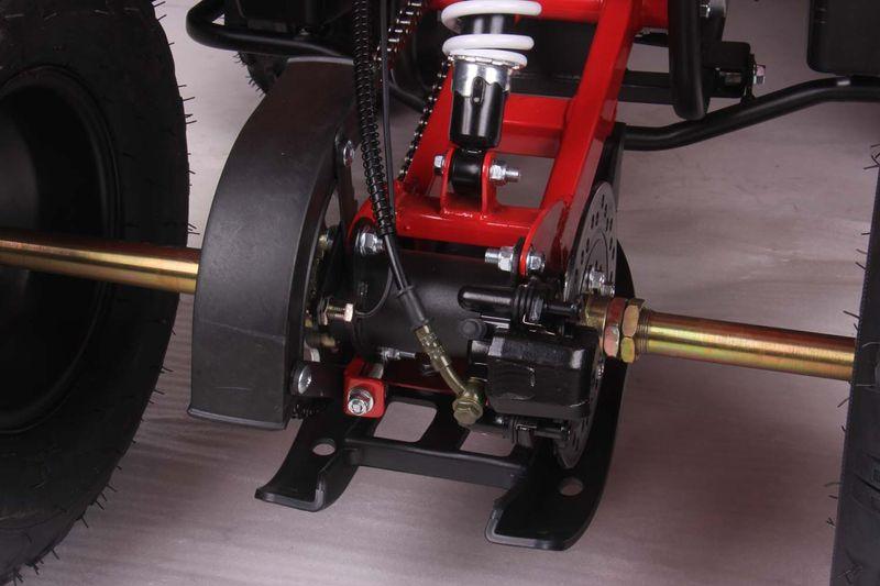 Midi Quad 125ccm - Hydraulische Bremse hinten