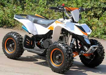 Kinderquad HIGHPER 50 in in orange / weiss