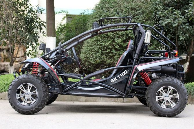 Strandbuggy Kinroad 1100 GK EFI - NEU  2019 - Black Beauty