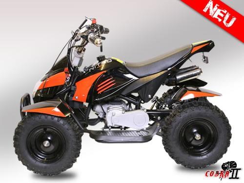 Cobra 2 Maxi Kinderquad 50ccm 2-Takt Pocktquad mit Fernbedienung und Drossel  – Bild 3