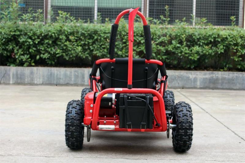 Buggy - Gokart elektrisch mit 1000 Watt - 48 Volt - drosselbar - rot – Bild 8