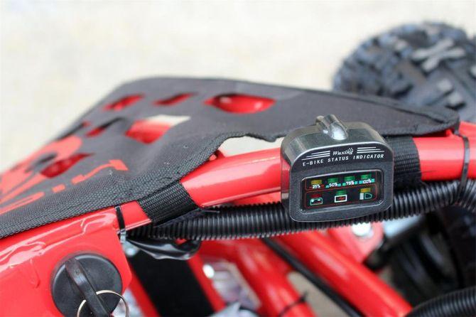 Buggy - Gokart elektrisch mit 1000 Watt - 48 Volt - drosselbar + BIG 20 AH Akkupack - rot