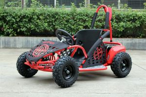 Buggy - Gokart elektrisch mit 1000 Watt - 48 Volt - drosselbar - rot
