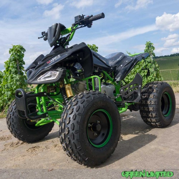Automatik Quad mit Rückwärtsgang für Kinder - 125ccm Speedy Green -Limited -  – Bild 1