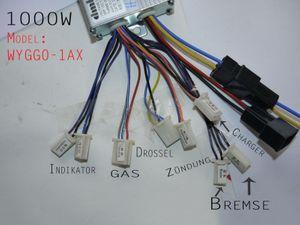Steuereinheit 1000 Watt 36 Volt für elektrisches Kinderquad - Hersteller DMHC Modell WYGG01 001