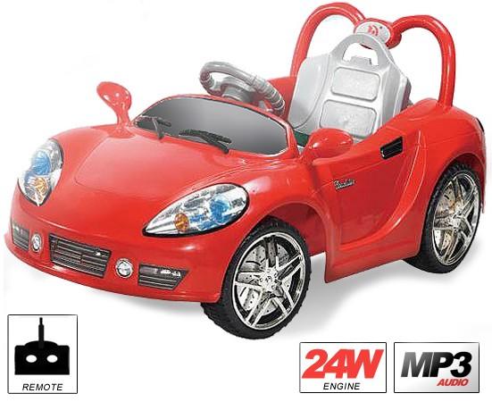 MZD Cabrio mit Fernsteuerung - Kinderfahrzeug elektrisch