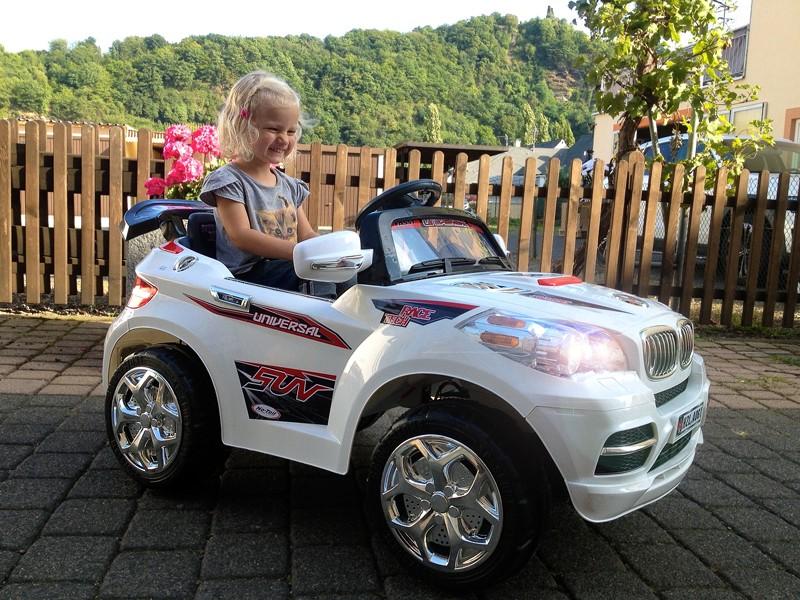 Elektro Kinderfahrzeug -BMX- SUV- Kinderauto 2 x 30W incl. Fernbedienung und MP3 Audio – Bild 1