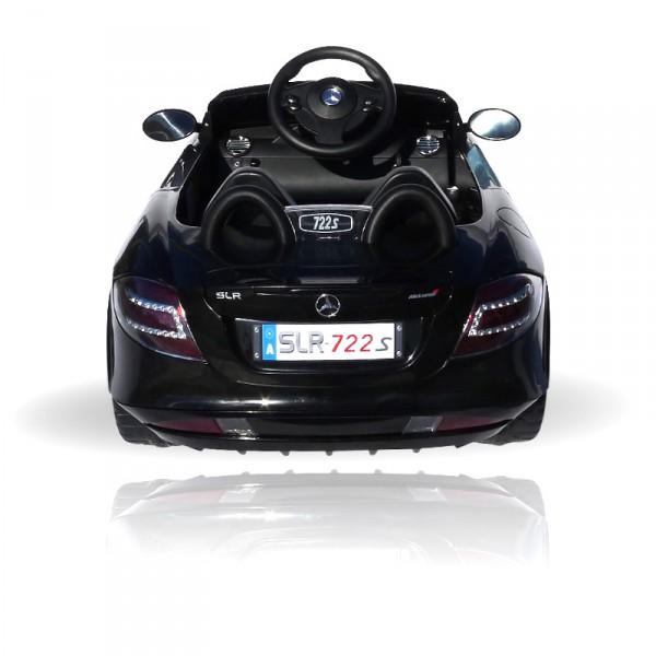 Kinderauto elektrisch - Mercedes SLR mit Fernbedienung und Sound – Bild 6