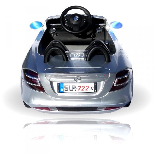 Kinderauto elektrisch - Mercedes SLR mit Fernbedienung und Sound – Bild 13
