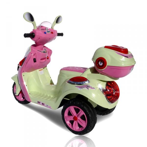 Elektrischer Kinderroller für Mädchen -  Pink Scootey – Bild 8