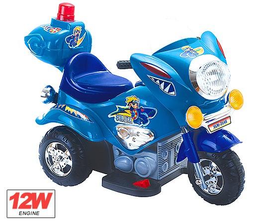 Kindermotorrad Elektromotorrad Police -  Kinderfahrzeug elektrisch – Bild 2