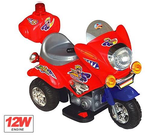 Kindermotorrad Elektromotorrad Police -  Kinderfahrzeug elektrisch – Bild 4